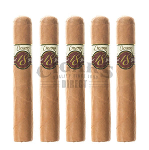 Cusano.18 Double Connecticut Robusto 5 Pack