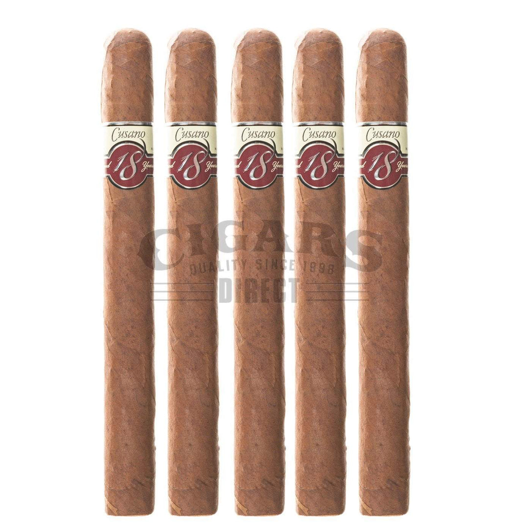 Cusano.18 Paired Maduro Churchill 5 Pack