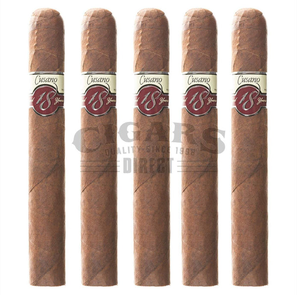 Load image into Gallery viewer, Cusano.18 Paired Maduro Toro Gordo 5 Pack