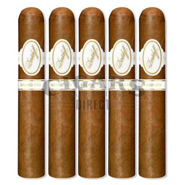Load image into Gallery viewer, Davidoff Grand Cru Series Robusto 5 Pack