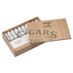 Davidoff Millennium Blend Series Robusto Tubo Open Box