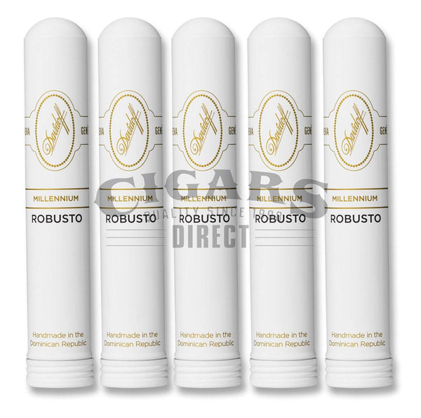 Load image into Gallery viewer, Davidoff Millennium Blend Series Robusto Tubo 5 Pack