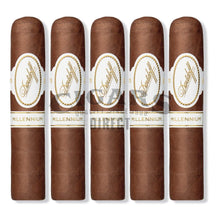 Load image into Gallery viewer, Davidoff Millennium Blend Series Short Robusto 5 Cigars