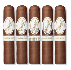 Davidoff Millennium Blend Series Short Robusto 5 Cigars