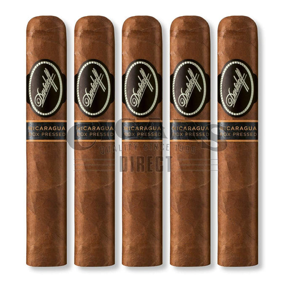 Load image into Gallery viewer, Davidoff Nicaragua Robusto Box Press 5 Pack