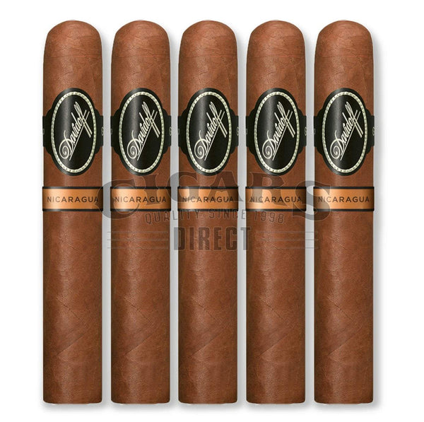 Load image into Gallery viewer, Davidoff Nicaragua Toro 5 Pack