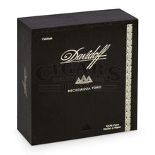 Load image into Gallery viewer, Davidoff Nicaragua Toro Closed Box