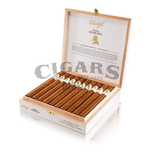 Davidoff Winston Churchill Aristocrat Open Box