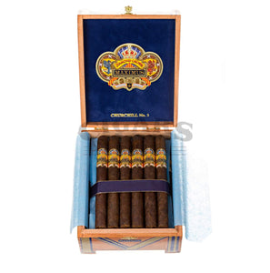 Diamond Crown Maximus Churchill No.2 Box Open