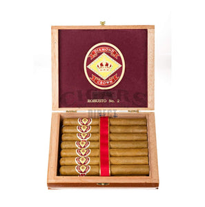 Diamond Crown Original Robusto No.2 Box Open