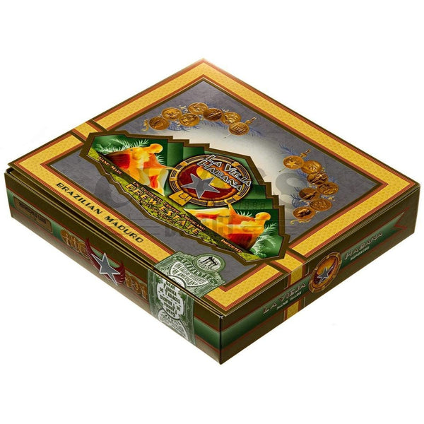 Load image into Gallery viewer, Drew Estate La Vieja Habana Brazilian Maduro Rothschild Luxo Box Closed