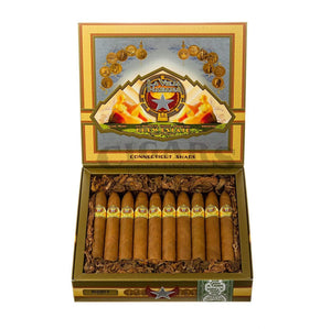 Drew Estate La Vieja Habana Connecticut Shade Belicoso D Box Open