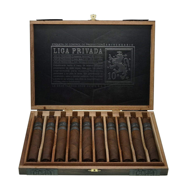 Load image into Gallery viewer, Drew Estate Liga Privada 10Th Anniversary Box Open