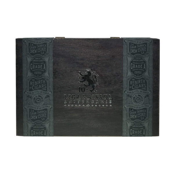 Load image into Gallery viewer, Drew Estate Liga Privada 10Th Anniversary Box Top Closed