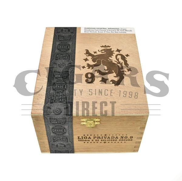 Load image into Gallery viewer, Drew Estate Liga Privada No.9 Belicoso Box Closed