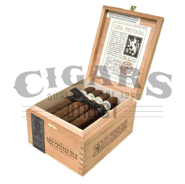 Load image into Gallery viewer, Drew Estate Liga Privada No.9 Belicoso Box Open