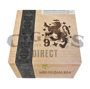 Drew Estate Liga Privada No.9 Robusto Box Closed