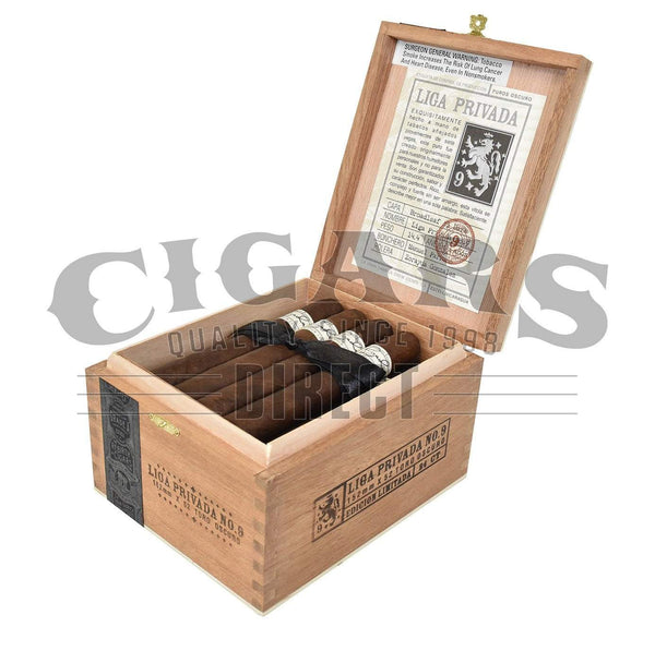 Load image into Gallery viewer, Drew Estate Liga Privada No.9 Toro Box Open
