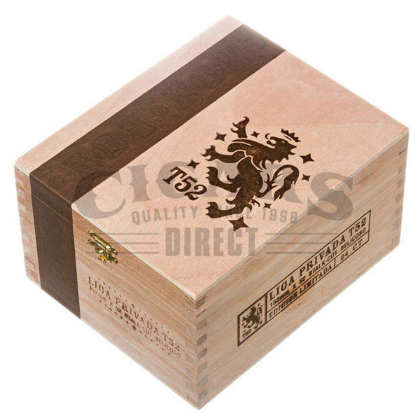 Load image into Gallery viewer, Drew Estate Liga Privada T52 Belicoso Box Closed