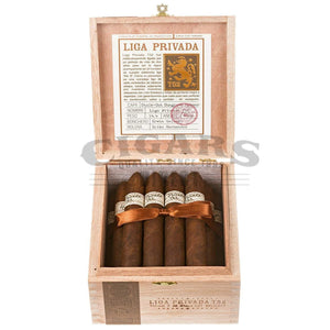 Drew Estate Liga Privada T52 Belicoso Box open