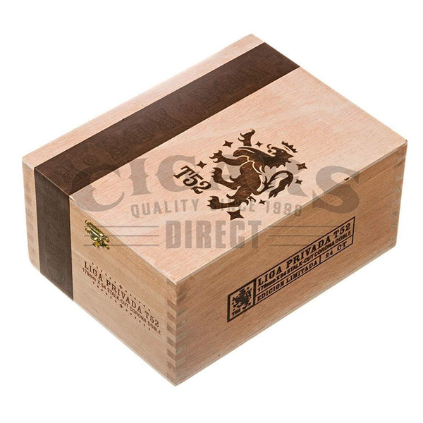 Load image into Gallery viewer, Drew Estate Liga Privada T52 Corona Doble Box Closed