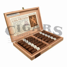 Load image into Gallery viewer, Drew Estate Liga Privada T52 Flying Pig Box Open