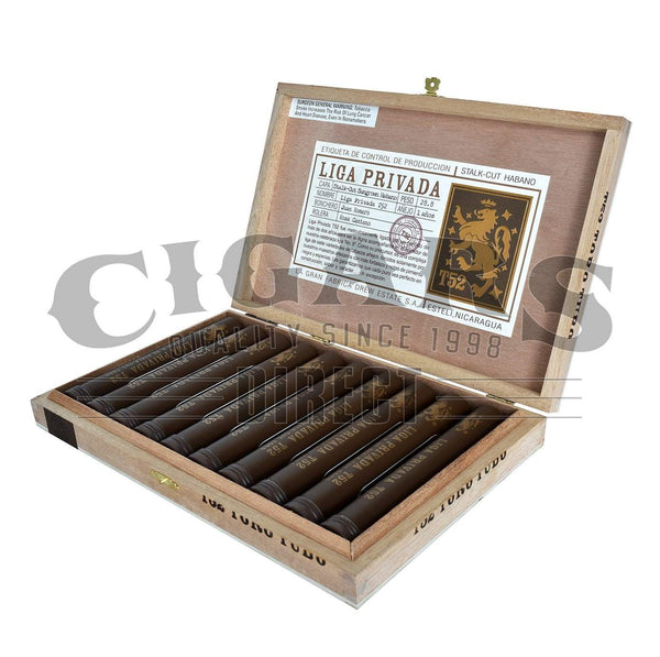 Load image into Gallery viewer, Drew Estate Liga Privada T52 Toro Tubo Box Open