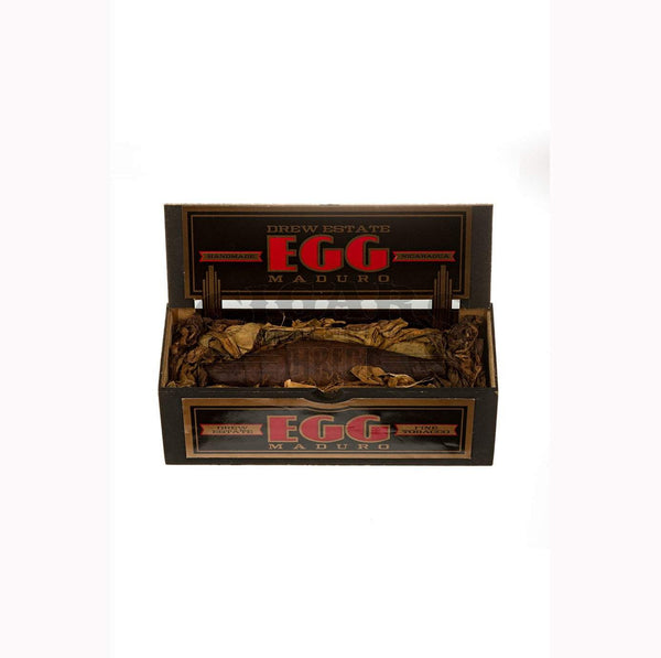 Load image into Gallery viewer, Drew Estate Egg Maduro Box Open