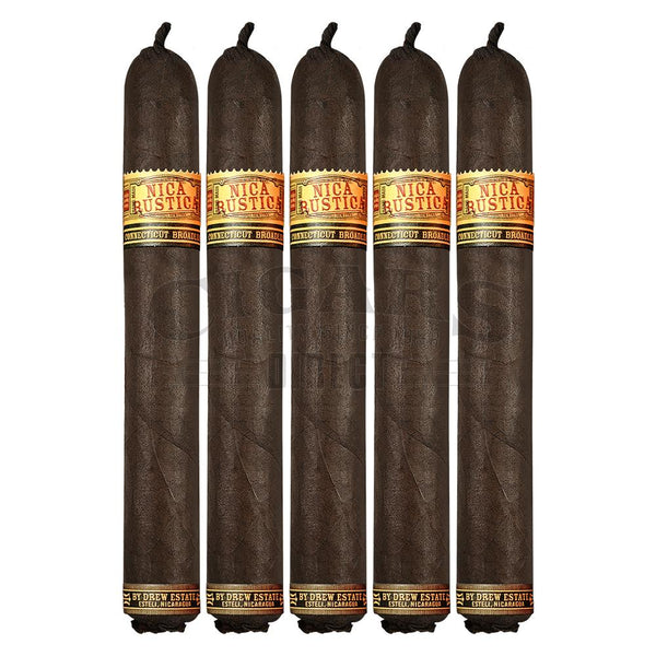 Load image into Gallery viewer, Drew Estate Nica Rustica El Brujito 5 Pack
