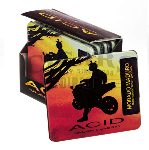Load image into Gallery viewer, Drew Estate Acid Krush Classic Morado Maduro Tins Closed