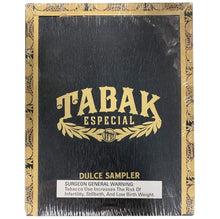 Load image into Gallery viewer, Drew Estate Tabak Especial Dulce 5 Cigar Sampler Closed Box