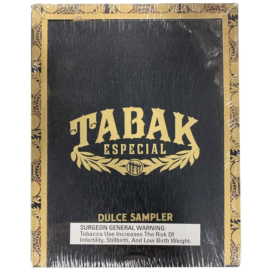 Drew Estate Tabak Especial Dulce 5 Cigar Sampler Closed Box