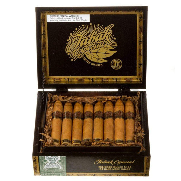 Load image into Gallery viewer, Drew Estate Tabak Especial Dulce Belicoso Box Open