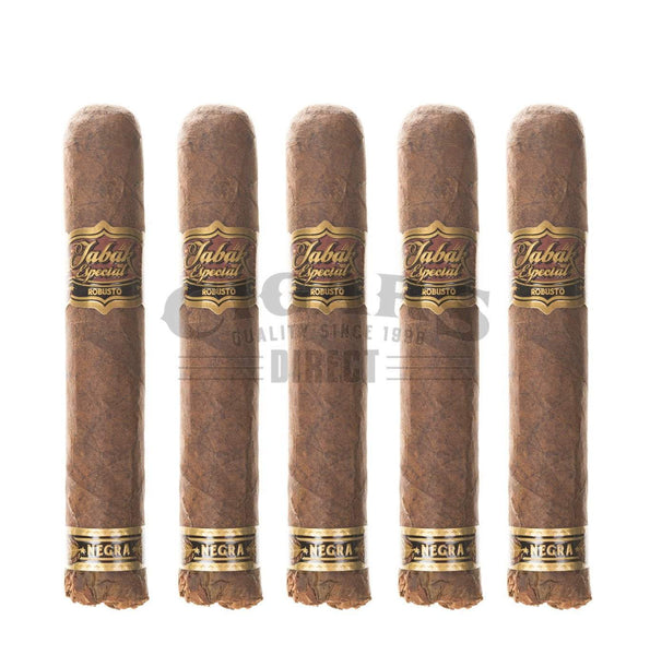 Load image into Gallery viewer, Drew Estate Tabak Especial Negra Robusto 5 Pack