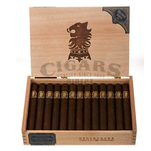 Load image into Gallery viewer, Drew Estate Undercrown Maduro Corona Doble Box Open
