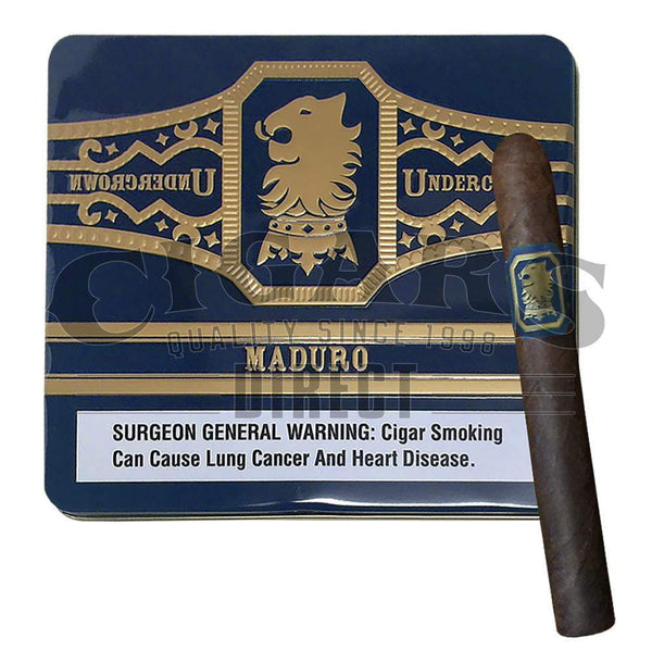 Load image into Gallery viewer, Drew Estate Undercrown Maduro Coronets Tin