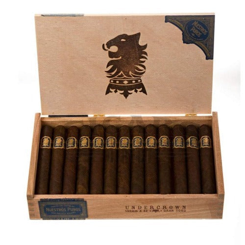 Load image into Gallery viewer, Drew Estate Undercrown Maduro Gran Toro Box Open