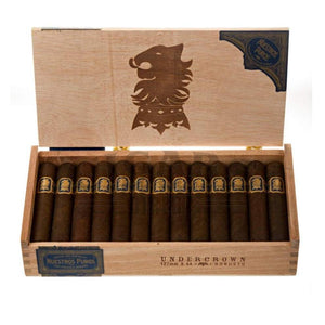 Drew Estate Undercrown Maduro Robusto Box Open