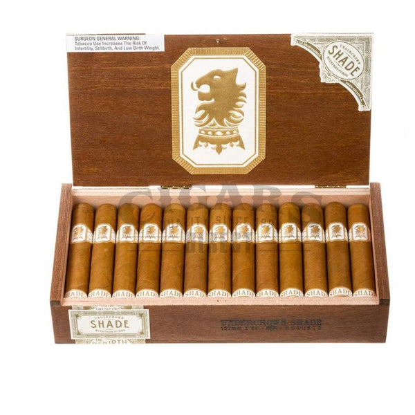 Load image into Gallery viewer, Drew Estate Undercrown Shade Robusto Box Open