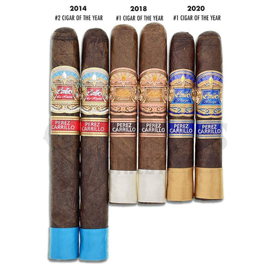 E.P. Carrillo Cigars of the Year Rated 5 Star Sampler