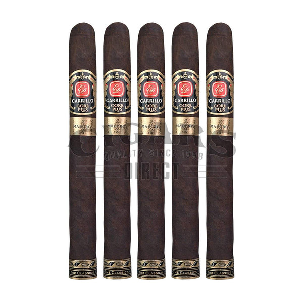 Load image into Gallery viewer, E.P. Carrillo Core Plus Maduro Club 52 5 Pack