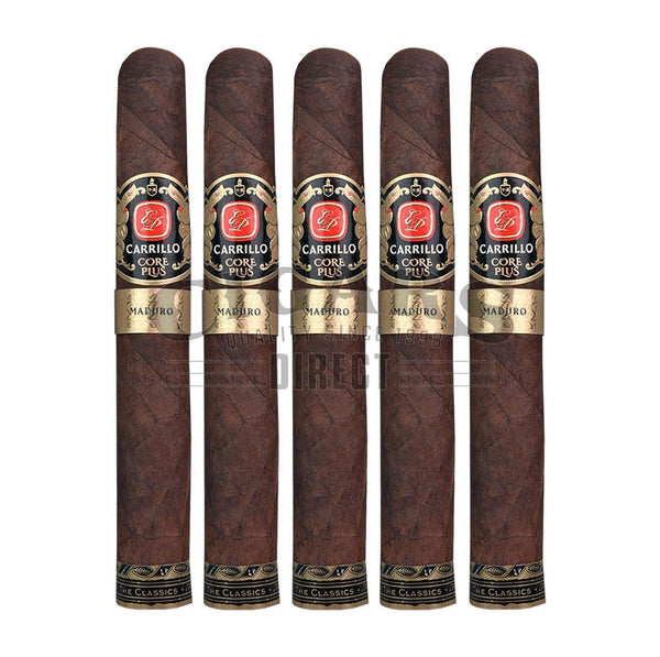 Load image into Gallery viewer, E.P. Carrillo Core Plus Maduro Golosos 5 Pack