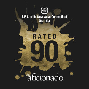 E.P. Carrillo New Wave Connecticut Gran Via 90 Rating by Cigar Aficionado