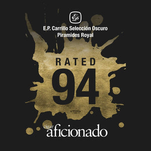 E.P. Carrillo Seleccion Oscuro Piramides Royal 94 Rating by Cigar Aficionado
