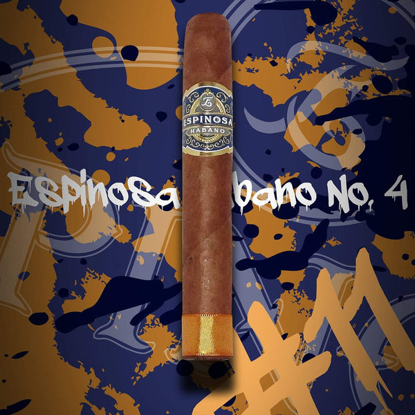 Load image into Gallery viewer, Espinosa Habano No.4 Robusto Art Image