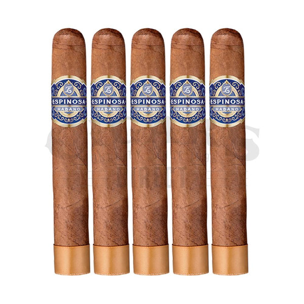 Load image into Gallery viewer, Espinosa Habano No.8 Gordo 5 Pack