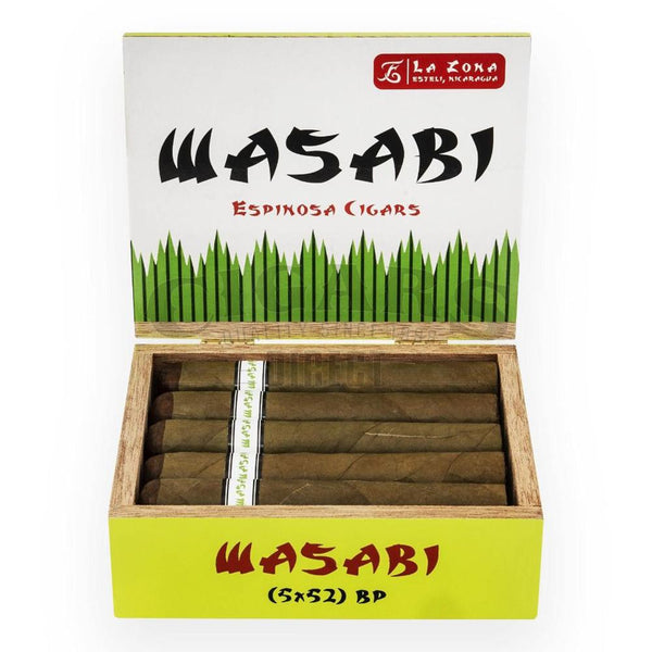 Load image into Gallery viewer, Espinosa Special Release Wasabi Robusto Box Open