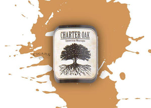 Foundation Cigar Co Charter Oak Shade Petite Corona Band