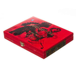 God Of Fire By Carlito Double Robusto Box Closed