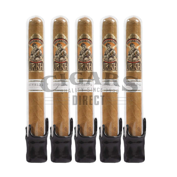 Load image into Gallery viewer, Gurkha Bourbon Collection Toro Natural Tubos 5 Pack